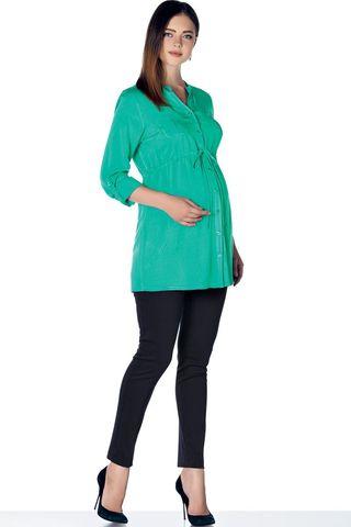Блузка 01385 зеленый