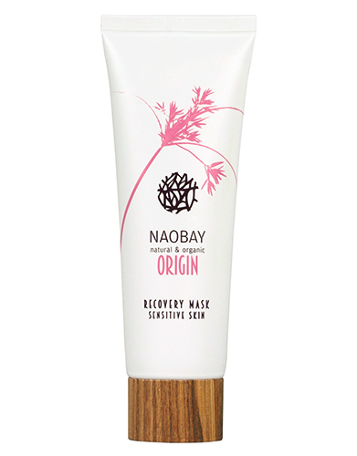 Восстанавливающая маска для чувствительной кожи, Naobay