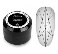 Гель-краска Soline Charms (Паутинка) (черный) 5гр