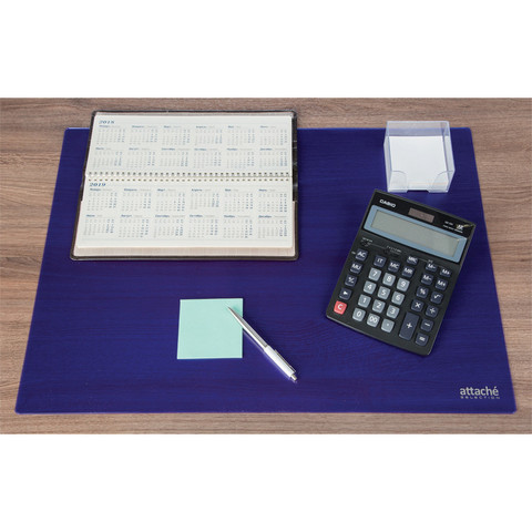 Коврик на стол Attache Selection 47,5x66см, синий, 2808-501