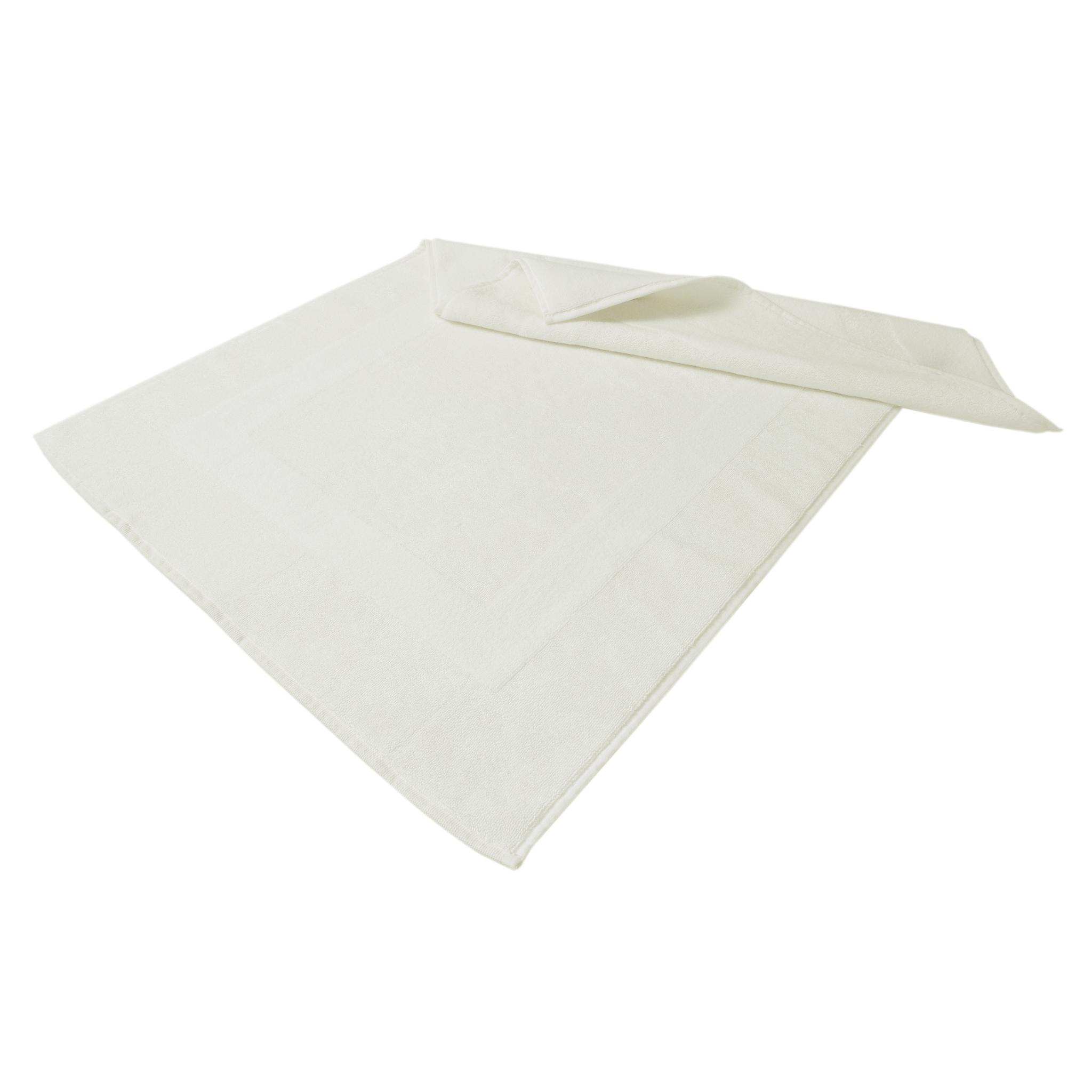 Элитный коврик для ванной Glam белый от Hamam