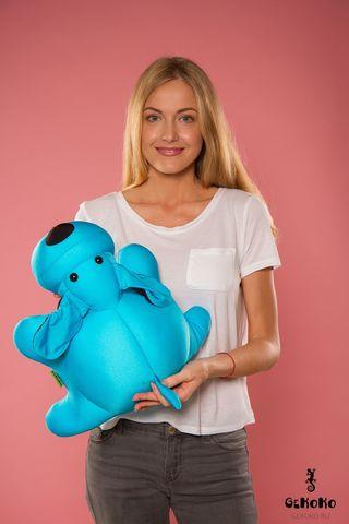 Подушка-игрушка «Голубой Патрик»-2