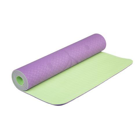 Коврик для йоги с разметкой Инжир 183*61*0,5 см