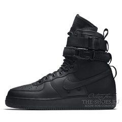 Кроссовки мужские Nike Air Force 1 SF Utillity Black