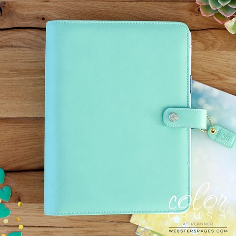 Планнер A5 MINT BINDER ONLY by Websters Pages (коллекция 2016!)