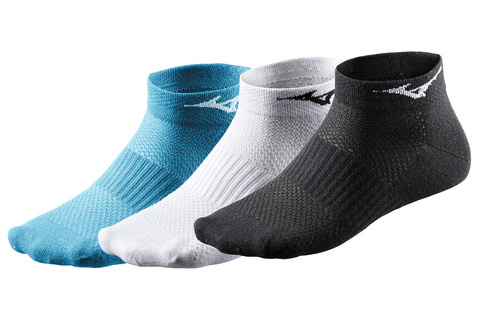 MIZUNO 3PPK TRAINING MID SOCK спортивные носки mix