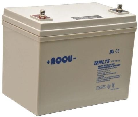 Аккумуляторы AQQU AQQU 12ML75 - фото 1