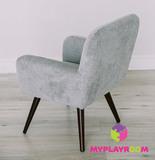 Детское стильное кресло в стиле 60-х, дымчатый 4