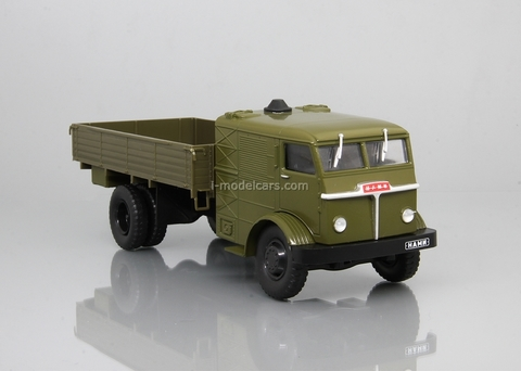 NAMI-012 steam truck khaki 1:43 DeAgostini Auto Legends USSR Trucks #20