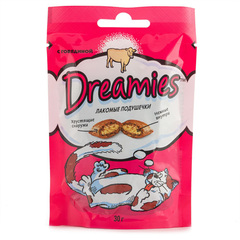 Корм для кошек DREAMIES с  говядиной 30г