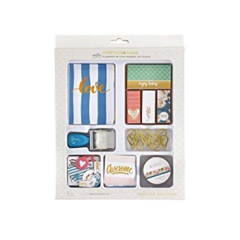 Набор карточек с украшениями для планеров и альбомов Color Crush Planner & Stationery Accents Kit -Love every day kit