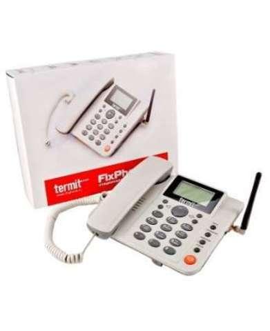 Стационарный сотовый телефон Termit FixPhone v2 с активным усилителем сигнала