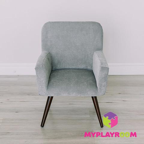 Детское стильное кресло в стиле 60-х, дымчатый 3