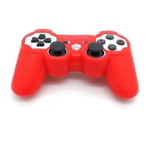 Sony PS3 Чехол для геймпада (Красный)
