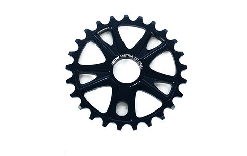 BMX Звезда Colony Metria Sprocket Team Design 28T Black