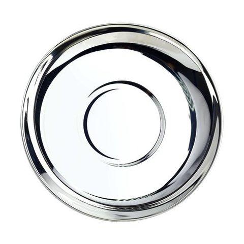 Блюдце из серебра