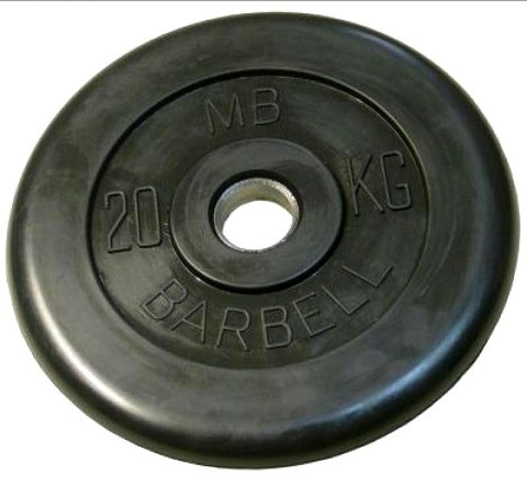 Диск Barbell MB 5 кг (51 мм)