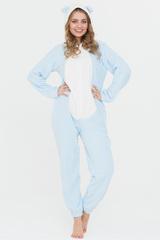 """Пижама с ушками """"Голубая"""""""