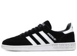 Кроссовки Мужские Adidas Spezial Original Black Suede White