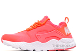 Кроссовки Женские Nike Air Huarache Run Ultra Hyper Coral White