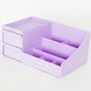 Подставка для канцелярии Macaron Purple