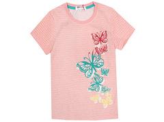 6200-8 футболка детская, розовая