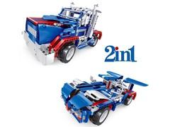 Радиоуправляемый конструктор 2 в 1 - грузовик