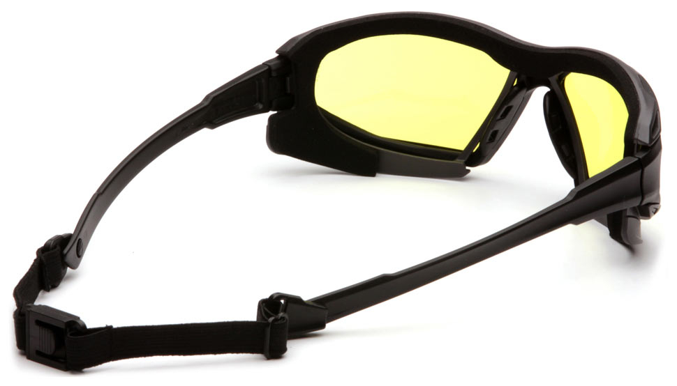 Очки баллистические тактические Pyramex Highlander-Plus SBG5030DT Anti-fog желтые 89%