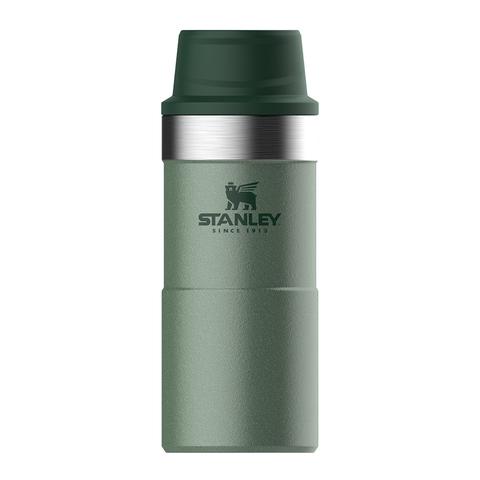 Термокружка Stanley Classic One hand 2.0 (0,35 литра), темно-зеленая