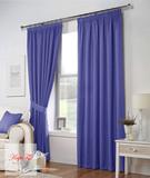 Тоскана (голубой). Плотные шторы рогожка.