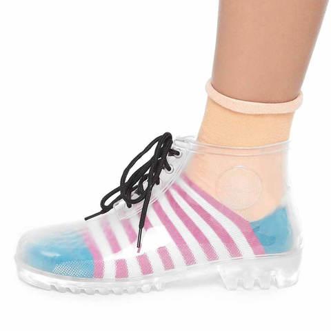 Прозрачные ботинки Rainbow Story
