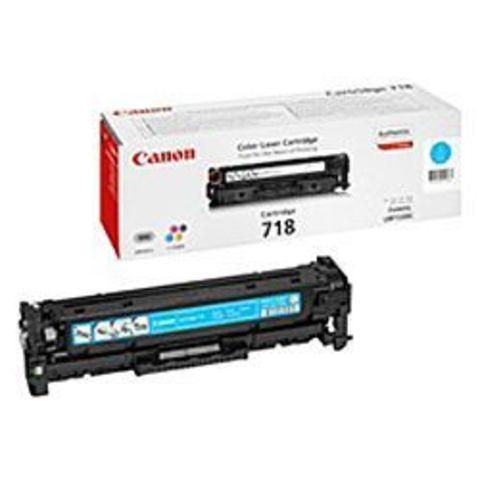Картридж голубой 718 для Canon LBP7200/MF8330/8350