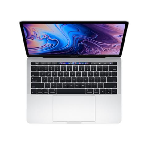 Apple MacBook Pro 13 Retina Touch Bar MUHQ2 Silver (1,4 GHz, 8GB, 128Gb, Intel Iris Plus Graphics 645)