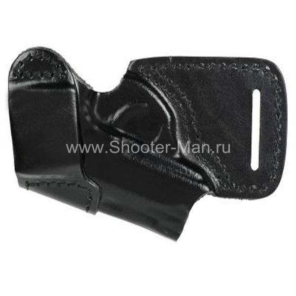 Кобура кожаная поясная для ПСМ ( модель № 10 ) Стич Профи