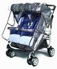 Дождевик на коляску для двойни Esspero Cabinet Duette (-25°С)