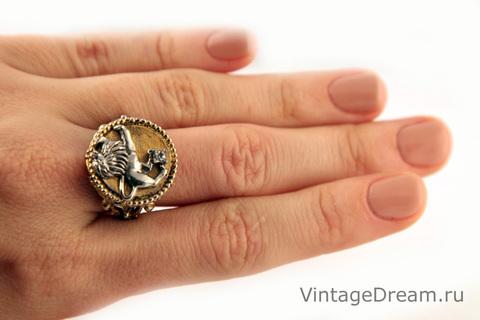 Стильное кольцо от Art