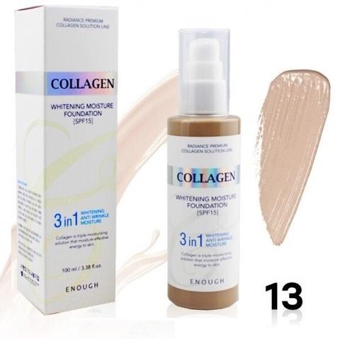Увлажняющий тональный крем для лица с коллагеном Enough Collagen Moisture Foundation, тон 13