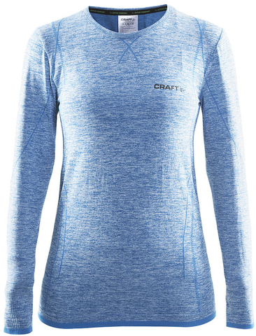 Термобелье рубашка женская Craft Comfort (blue)