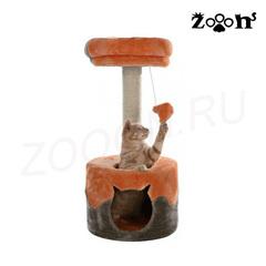 Trixie комплекс для кошки NURIA, высота 71 см серый/оранжевый