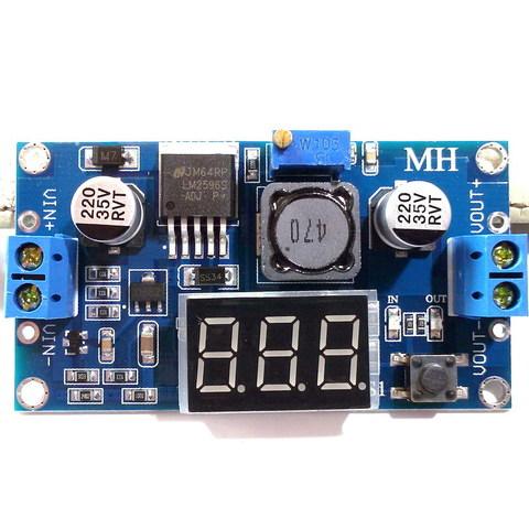 Модуль понижающий напряжение LM2596