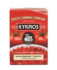 Томаты очищенные резанные в собственном соку Kyknos 370 гр
