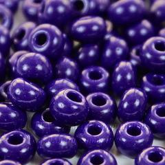 Бисер 4/0 Preciosa непрозрачный, фиолетово-синий