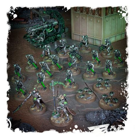 START COLLECTING! NECRONS