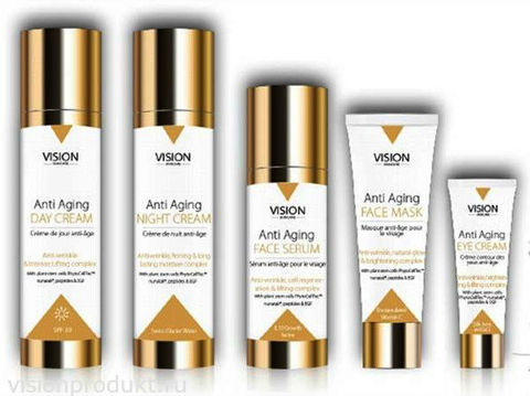 VISION Skincare: вечная молодость.