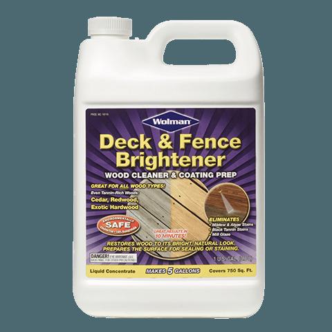 Wolman Deck and Fence Brightener осветлитель древесины