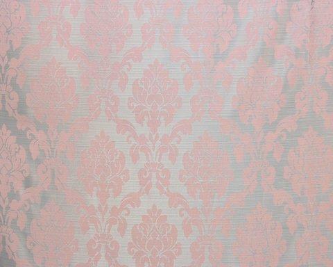 Портьерная ткань жаккард Афродита розовый
