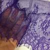 Кружево Тонкое шантильи Purple