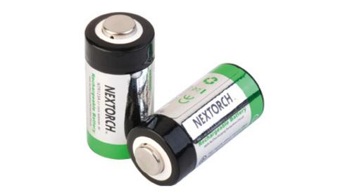 Литиевые аккумуляторы CR123A от Nextorch (2 шт)