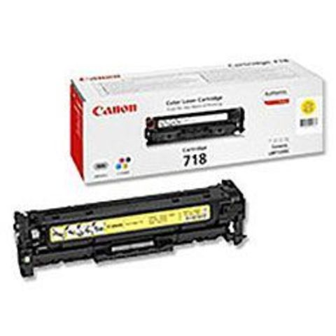 Картридж желтый 718 для Canon LBP7200/MF8330/8350
