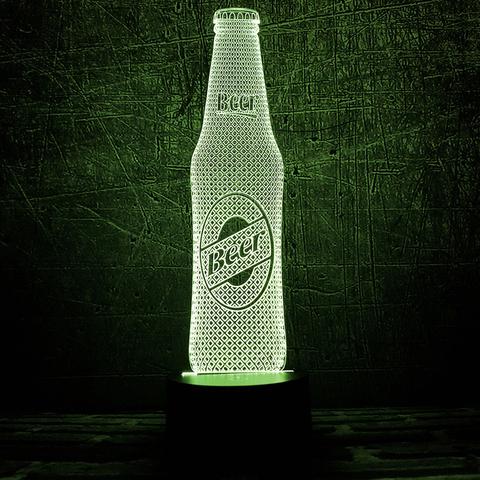 Ночник Бутылка